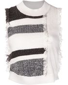 3.1 Phillip Lim Fringed Sweater - Lyst
