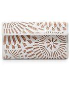 Nancy Gonzalez Venice Laser-Cut Crocodile Clutch Bag - Lyst