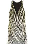 Roberto Cavalli Sequin Mini Dress - Lyst