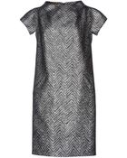Michael Kors Kneelength Dress - Lyst