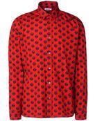 Moschino Long Sleeve Shirt - Lyst