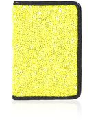 Topshop Sequin Oyster Card Holder - Lyst