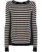 Oasis Stripe Woven Back Top - Lyst