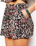 Asos Exclusive Shorts In Print - Lyst