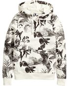 H&M Patterned Hooded Jacket - Lyst
