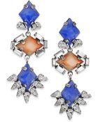 DANNIJO Dayna Crystal Drop Earrings - Lyst