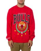 Mitchell & Ness The Chicago Bulls Laurel Sweatshirt - Lyst