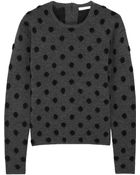 Thakoon Addition Polka-Dot Wool-Blend Sweater - Lyst