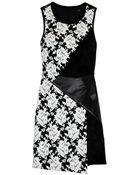 Tibi Floral Tapestry Jacquard Dress - Lyst