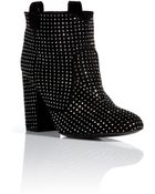 Laurence Dacade Studded Suede Ankle Boots - Lyst