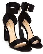 Nicholas Kirkwood Satin High Heeled Sandals With Pearl Detail - Lyst
