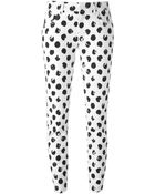 Dolce & Gabbana Large Polka Dot Print Jeans - Lyst