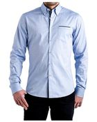 Stone Rose Blue Oxford Sport Shirt - Lyst