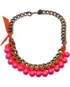 Lanvin 'Bahia' Short Necklace - Lyst
