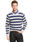 Tommy Hilfiger Signature Stripe Sweater - Lyst
