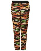 Topshop Fur Tiger Jersey Tapered Trousers - Lyst