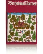 Olympia Le-Tan Forest Hansel And Gretal Embroidered Canvas Clutch - Lyst