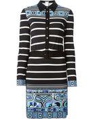 Emilio Pucci Printed Shirt Dress - Lyst