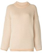 Chloé Ribbed Sweater - Lyst