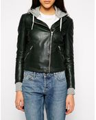 Muubaa Carmona Leather Biker Jacket - Lyst