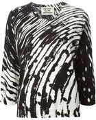 Henrik Vibskov Ripple Print Sweater - Lyst