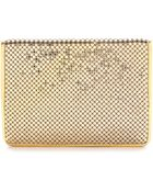Whiting & Davis Passport Cover - Gold - Lyst
