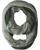 Michael Stars Laced Knit Ombre Eternity Scarf - Lyst