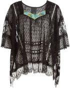 Anna Sui Vintage Lace Top - Lyst