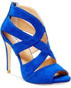 Steve Madden Women'S Immence Strappy Sandals - Lyst