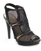 Jessica Simpson Fedelle Mesh Slingback Sandals - Lyst