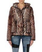 Maje Leopard Print Coat - Lyst