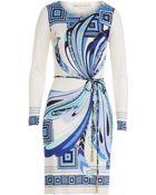 Emilio Pucci Printed Stretch Jersey Dress - Lyst