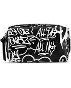 DKNY Graffiti Print Small Cosmetic Pouch - Lyst