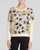DKNY Embellished Sweater - Lyst