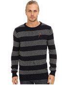 Scotch & Soda Crew Neck Rocker Knit Pullover - Lyst