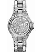 Michael Kors Ladies Mini Camille Stainless Steel Crystal Pavã Watch - Lyst