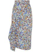 Roksanda Waveren Printed Pencil Skirt - Lyst