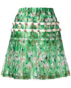 Comme des Garçons Floral Skirt - Lyst