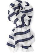 Forever 21 Striped Frayed Scarf - Lyst