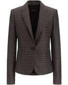 Joseph Cravat Jacquard New Jaguar Jacket In Burgundy - Lyst
