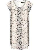 Second Female Niki Silk Print Dress - Lyst