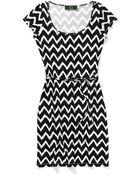 C. Wonder Printed Ikat Belted Dress - Lyst