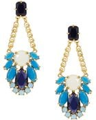 Kate Spade Steamer Glow Statement Earrings - Lyst
