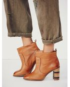 Free People Mccall Heel Boot - Lyst