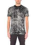 Lanvin Printed T-Shirt - Lyst
