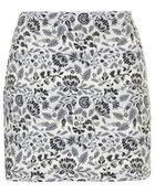 Topshop Folk Floral Pelmet Skirt - Lyst