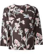 Marni Flower Print Top - Lyst