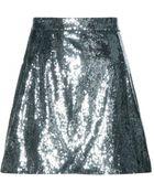 Dolce & Gabbana Sequined Skirt - Lyst