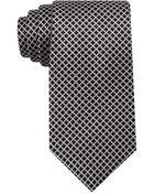 Ike By Ike Behar Silk Micro Grid Tie - Lyst