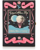 Olympia Le-Tan Amazing Story Embroidered Book Clutch - Lyst